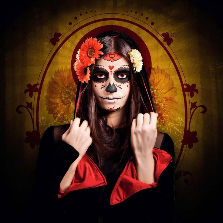 Aprende A Hacer Catrinas De Maquillaje A Lucirte Este Halloween